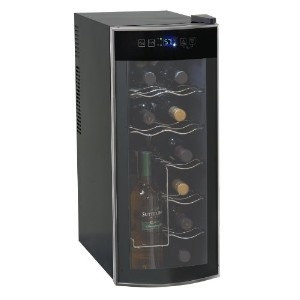 Avanti 12 Bottle Thermoelectric Counter Top Wine Cooler - Model EWC1201 並行輸入