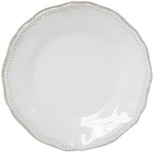Le Cadeaux Provenceソリッドホワイトメラミン食器類 Dinner Plate COMINHKPR00615