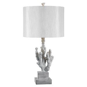 Kenroy Home 32166WH Coral Table Lamp by Kenroy Home