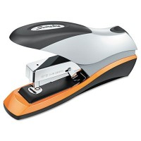 Optima Desktop Stapler, 70-Sheet Capacity, Silver/Orange/Black (並行輸入品)