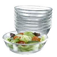 Arc International Luminarc Directoire Clear A/P Bowl, Set of 12 by Arc International