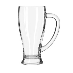 Libbey 14-Ounce Clear Cafe Mug, Set of 12 by Libbey