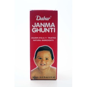 Janma Ghunti (125 ml, 4.2 fl. oz. US) by Dabur India, Ltd. [並行輸入品]