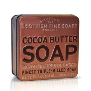 Scottish Fine Soaps in a Tin Collection - Cocoa Butter 100g 3.5oz by Scottish Fine Soap [並行輸入品]