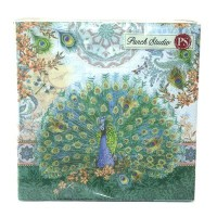 Punch Studio Luncheon Napkins- #53664 Royal Peacock by Punch Studio