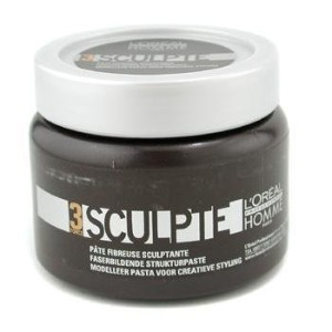 L'Oreal Professionnel Homme Force 3 Sculpte Sculpting Fibre Paste Unisex, 5 Ounce by L'Oreal [並行輸入品]