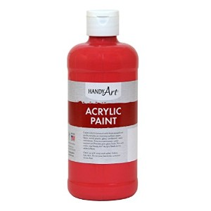 Handy Art by Rock Paint 101-030 Student Acrylic Paint, 1, Phthalo Red, 16-Ounce by Handy Art by...