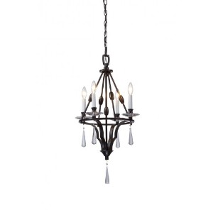 Artcraft Lighting Balmoral 4-Light Chandelier by Artcraft Lighting