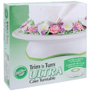 "Wilton Trim 'n Turn Ultra Cake Turntable-12"" Round by WMU [並行輸入品]"