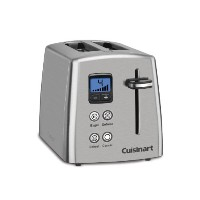 【並行輸入】Cuisinart クイジナート社 CPT-415 Countdown 2-Slice Stainless Steel Toaster トースター