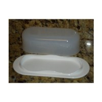 Tupperware Open House Butter Dish Keeper in White by Tupperware