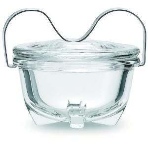 Jenaer Glas Wagenfeld Collection 16-Ounce Glass Egg Coddler, Large by Jenaer Glas
