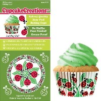 Cupcake Creations Ladybug Baking Cup, Set of 32 by Cupcake Creations