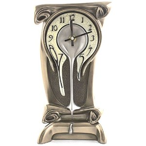 Art Nouveau Melting Bronze Table Clock アールヌーボー アンティーク テーブルクロック/置時計 Universal Lighting and Decor社...