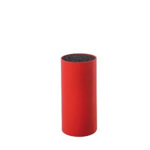 Zassenhaus - Knife Holder Block - For Blades up to 20cm - 22.5cm High - ABS Thermoplastic - Red