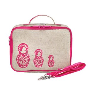 SoYoung Pink Russian Dolls Insulated Lunch Box by SoYoung