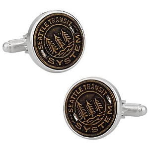 Cuff - Daddy Seattle Transit Token Cufflinks