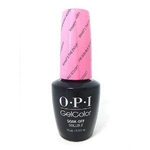 OPI GelColor - What's the Double Scoop? - 0.5oz / 15ml