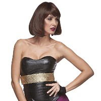 Sepia Costume Party Page Synthetic Wig P1B.30 (並行輸入品)