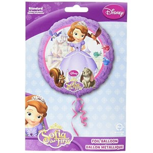 """Amscan 18"""" Foil Helium Balloon - Sofia The First / 1st - Disney - Kids Party -"""