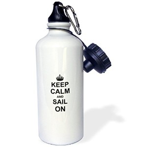 ローズWB _ 157768 _ 1 Keep Calm and Sail on-carry on sailing-boat Ship Captain Sailor gifts-fun面白いユーモアユ...