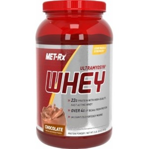 MET-Rx Ultramyosyn Whey Chocolate, 2 pound by MET-Rx
