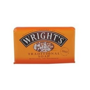 THREE PACKS of Wrights Coal Tar Soap 125g by Wright's