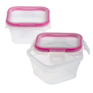 Snapware Total Solution 1.34-Cup Square Storage, Plastic by Snapware