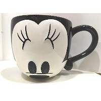 Disney Parks Cute Minnie Mouse Face Signature Large 20 oz Ceramic Mug NEW Cuties by Disney