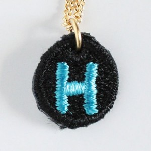 Embroidery Necklace コトダマ H