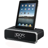 iHome iDL91 Dual Charging Stereo FM Clock Radio with Lightning Dock and USB Charge/Play for iPhone...