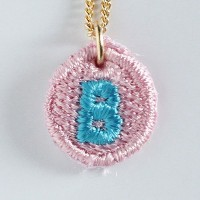 Embroidery Necklace コトダマ B
