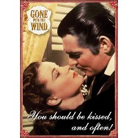 Gone With The Wind–Kissed–冷蔵庫マグネット