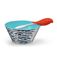 Fred & Friends BIRD FEED Kids' Bowl and Spoon Set by Fred & Friends