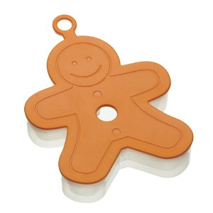 Let's Make Soft Touch Gingerbread Man 3 Dimensional Cookie Cutter