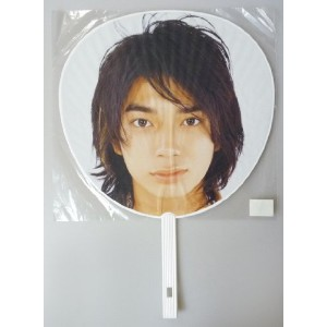 うちわ ★ 松本潤 「ARASHI SUMMER 2002 HERE WE GO!」