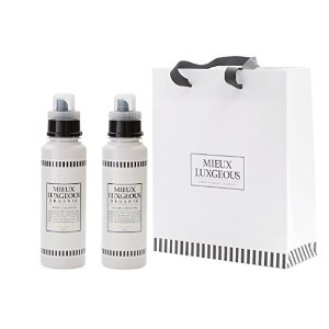 MIEUX LUXGEOUS HOMECLEANING R(柔軟剤入り洗剤) 2本 with Paper bag