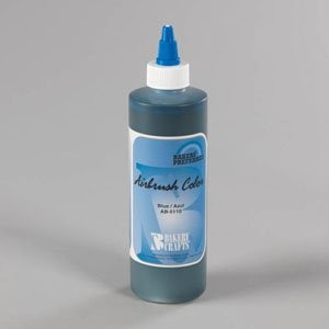 Bakery Crafts Air Brush Food Color, 8 oz., Blue by Bakery Crafts