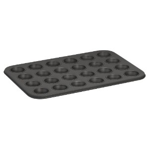 Baker's Secret 1114369 Essentials 24-Cup Muffin Pan, Mini by Baker's Secret
