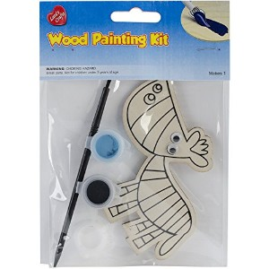 Wood Painting Kit-Zebra (並行輸入品)
