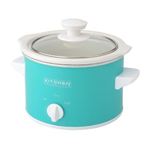 Kitchen Selectives Slow Cooker, 1.5-Quart, Turquoise by Kitchen Selectives