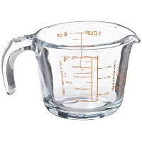 Arcuisine Borosilicate Glass Measuring Cup 8.5 oz. by International Cookware