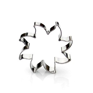 Sun Cookie Cutter- Stainless Steel by Sweet Cookie Crumbs