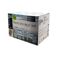 Kole Imports OD755 Large Variety Pack Food Storage Containers Set by Handy Helpers