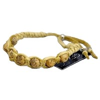 (エティカ) Ettika ブレスレット SingleJasper Semi Precious Stones Deerskin Leather Adjustable Bracelet MB390JS...