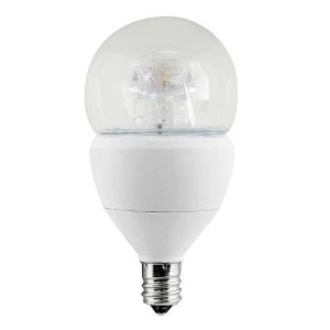 EcoSmart 60W Equivalent Soft White (2700K) A15 Candelabra Base Dimmable LED Light Bulb by EcoSmart