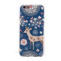 Generic (ジェネリック) Girlish Otome-chic skin case for iPhone 6 plus (5.5inch) Deer(シカ)