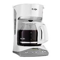Mr. Coffee SKX20 12-Cup Programmable Coffeemaker, White by Mr. Coffee