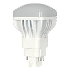 Satco S9303 LED Pl 4-Pin 5000K 950 lm G24Q Base Light Bulb with 120-Degree Beam Spread, 13W by Satco