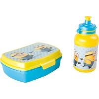 [Minons]Minons DESPICABLE ME Minions Sandwich Box Lunchbox & Sport Bottle 776273 [並行輸入品]